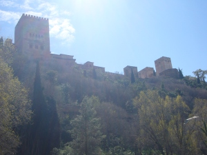 Alhambra from below